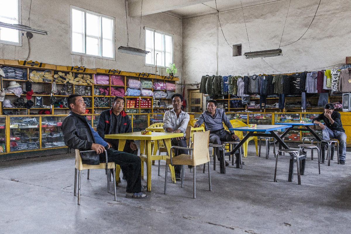 cafe-epicerie de Yumen