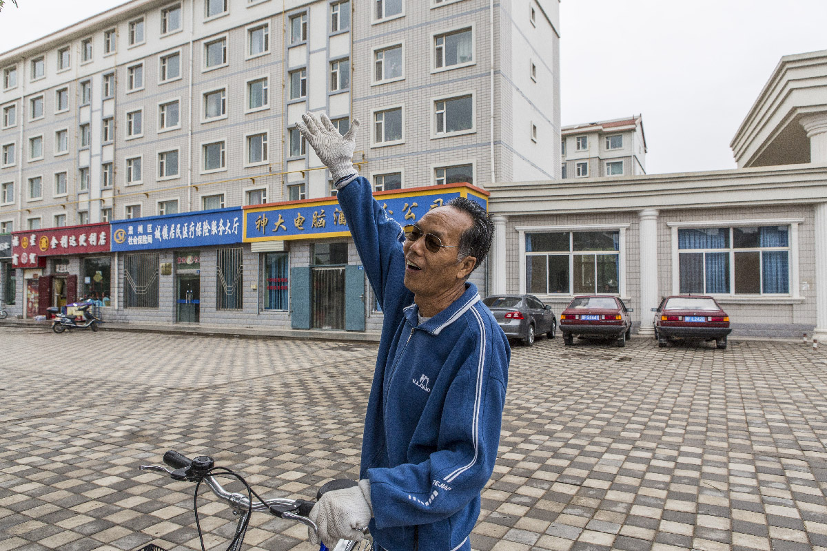 Jiuquan, un retraité