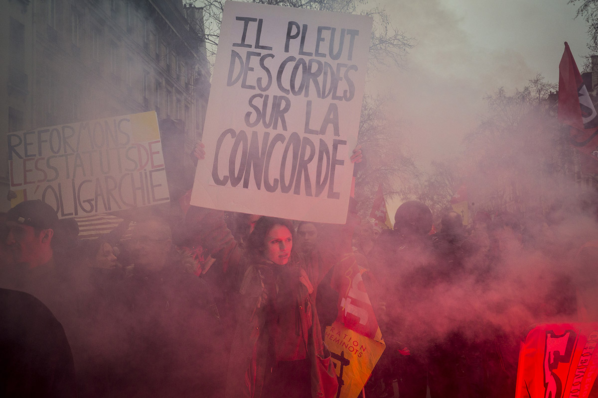 Demonstrations Paris  2017-2020