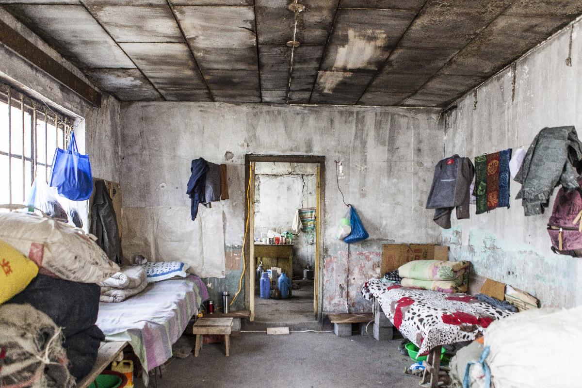 logement ouvriers Yumen