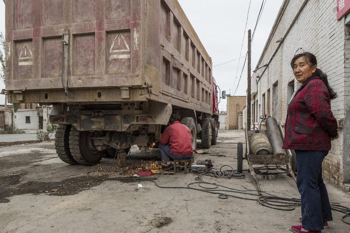 Ville abandonnee de Yumen